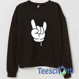 Cool Fingers Sweatshirt Unisex Adult Size S to 3XL