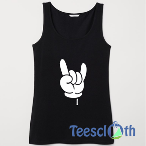 Cool Fingers Tank Top Men And Women Size S to 3XL