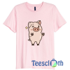 Pig Pink Pig Pink T Shirt For Men Women And Youth