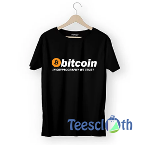 Bitcoin In Cryptography T Shirt For Men Women And Youth
