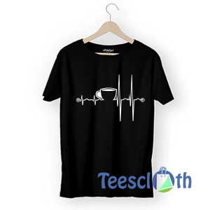 Coffee Heartbeat T Shirt For Men Women And Youth