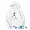 Flicking Heart Hoodie Unisex Adult Size S to 3XL