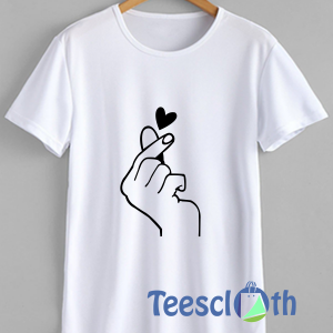 Flicking Heart T Shirt For Men Women And Youth