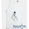 Flicking Heart Tank Top Men And Women Size S to 3XL