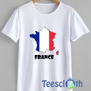 France French Flag T Shirt For Men Women And Youth