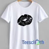 Kissy Lip T Shirt For Men Women And Youth