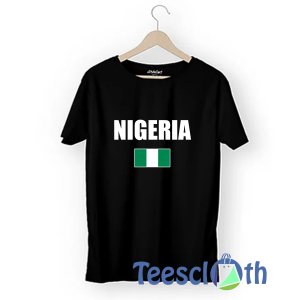 Nigerian Flag T Shirt For Men Women And Youth