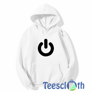 Power Button Hoodie Unisex Adult Size S to 3XL