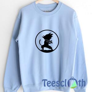 Anime Jump Goku Sweatshirt Unisex Adult Size S to 3XL