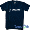 Boeing Signature T Shirt For Men Women And Youth