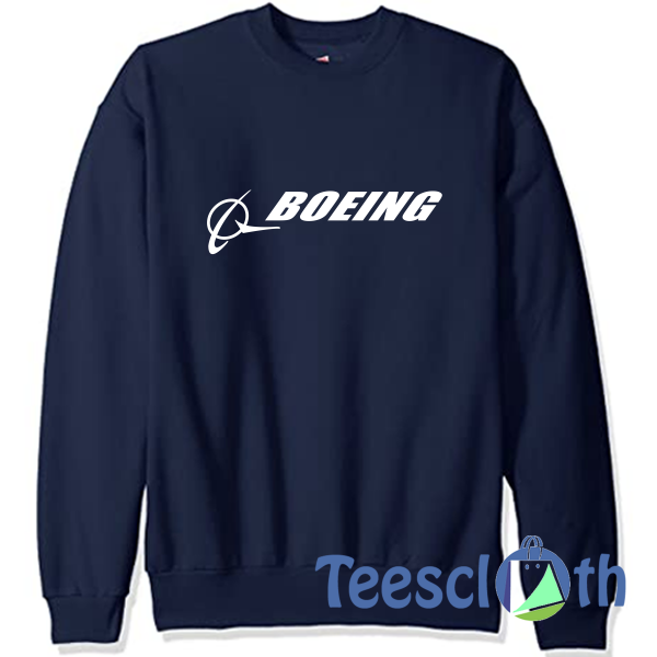 Boeing Signature Sweatshirt Unisex Adult Size S to 3XL