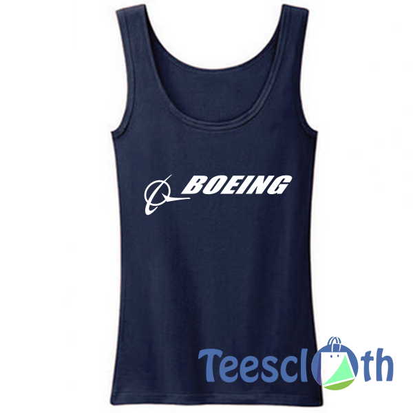 Boeing Signature Tank Top Men And Women Size S to 3XL