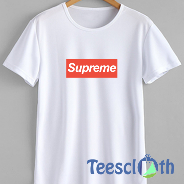 Supreme Box Logo T Shirt For Men Women And Youth