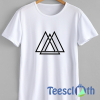 Triangle Maze Shapes T Shirt For Men Women And Youth