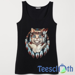 Kitty Dream Catcher Tank Top Men And Women Size S to 3XL