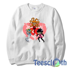 Powerpuff Girls Sweatshirt Unisex Adult Size S to 3XL