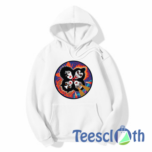 Rock And Roll Kiss Hoodie Unisex Adult Size S to 3XL