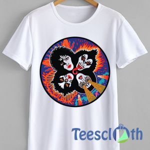 Rock And Roll Kiss T Shirt For Men Women And Youth
