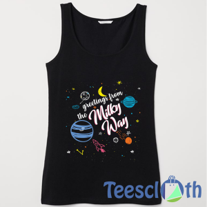 The Milky Way Tank Top Men And Women Size S to 3XL