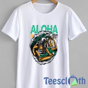 Aloha Zeus T Shirt For Men Women And Youth