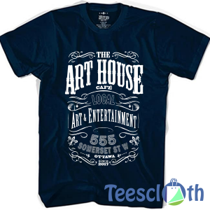 The Art House T Shirt For Men Women And Youth