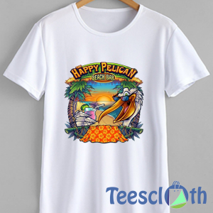 The Happy Pelican T Shirt For Men Women And Youth