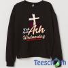 Ash Wednesday Sweatshirt Unisex Adult Size S to 3XL