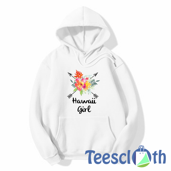 Hawaii Girl Hoodie, designed and sold by artists. Available in a range of colours and styles for men, women, and everyone.