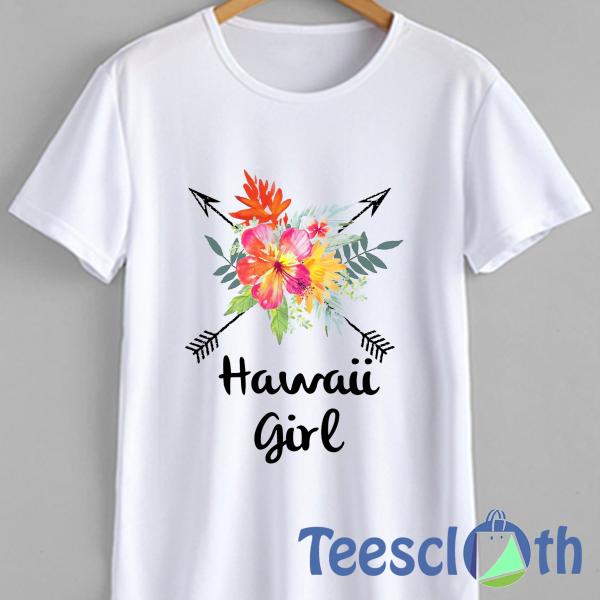 Hawaii Girl T Shirt For Men Women And Youth