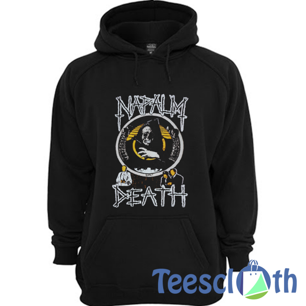 Napalm Death Hoodie Unisex Adult Size S to 3XL