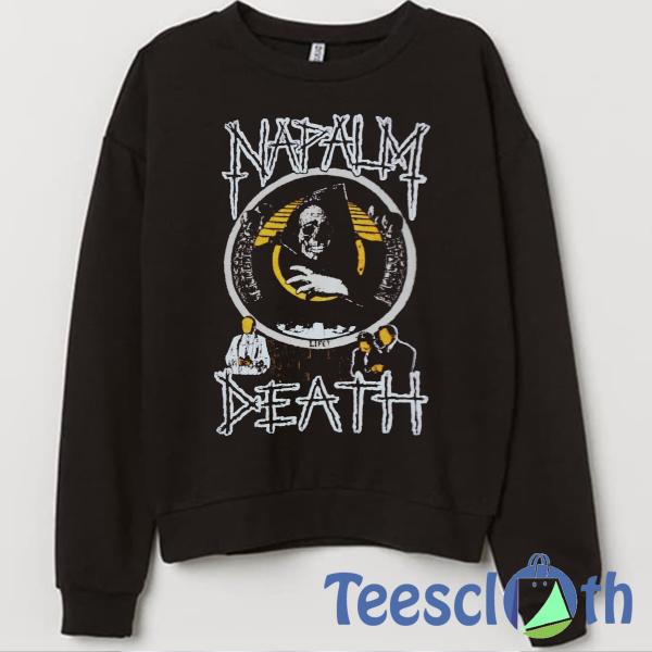 Napalm Death Sweatshirt Unisex Adult Size S to 3XL