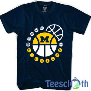 University of Michigan T Shirt For Men Women And Youth