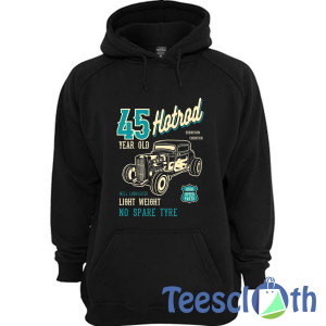 Premium 45 Year Old Hoodie Unisex Adult Size S to 3XL