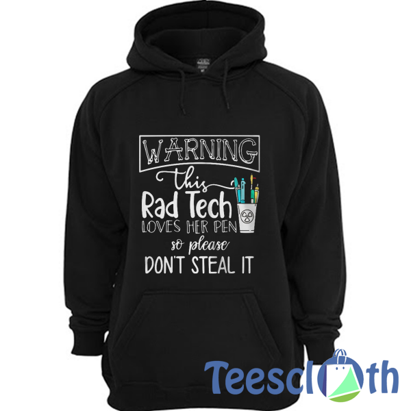 Warning This Rad Hoodie Unisex Adult Size S to 3XL
