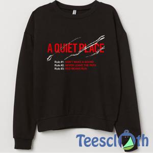 A Quiet Place Sweatshirt Unisex Adult Size S to 3XL