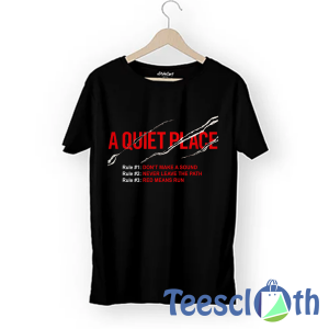 A Quiet Place T Shirt For Men Women And Youth