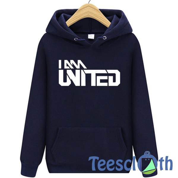 I Am Man United Hoodie Unisex Adult Size S to 3XL