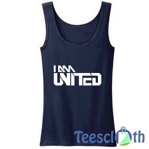 I Am Man United Tank Top Men And Women Size S to 3XL