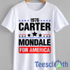 Jimmy Carter Mondale T Shirt For Men Women And Youth