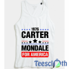 Jimmy Carter Mondale Tank Top Men And Women Size S to 3XL