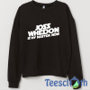 Joss Whedon Sweatshirt Unisex Adult Size S to 3XL