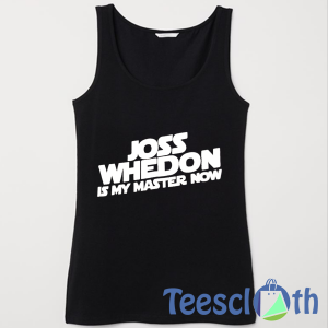 Joss Whedon Tank Top Men And Women Size S to 3XL