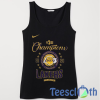 Los Angeles Lakers Tank Top Men And Women Size S to 3XL